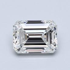 推荐宝石 2:1.11 克拉祖母绿切割钻石