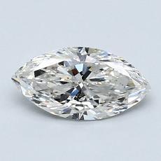 Piedra recomendada 3: Diamante de talla marquesa de 0.76 quilates