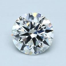 推荐宝石 2:1.11克拉圆形切割钻石