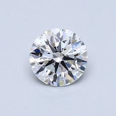 推荐宝石 3:0.58克拉圆形切割钻石