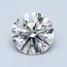 Recommended Stone #3: 1.29-Carat Round Cut Diamond