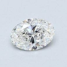 Recommended Stone #2: 0,70-Carat Oval Cut Diamond