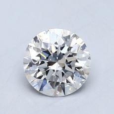 Recommended Stone #1: 0.70-Carat Round Cut Diamond