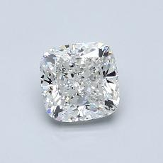 Recommended Stone #1: 0,80-Carat Cushion Cut Diamond