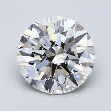 1.51-Carat Round Diamond Ideal G VS1
