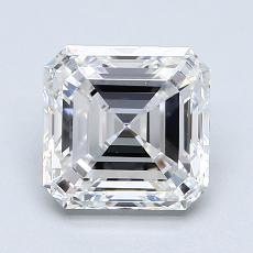 Recommended Stone #1: 1.71-Carat Asscher Cut Diamond