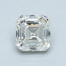 推薦鑽石 #3: 1.08  克拉上丁方形鑽石