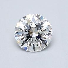 0.71 Carat 圓形 Diamond 理想 D VS1