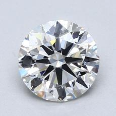 1.50 Carat 圓形 Diamond 理想 H VS2