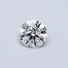 Recommended Stone #1: 0.34-Carat Round Cut
