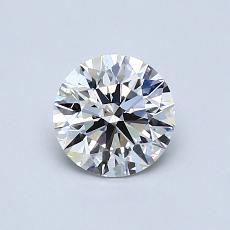 Recommended Stone #1: 0.75-Carat Round Cut Diamond