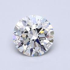 1.01 Carat 圓形 Diamond 理想 H VVS2