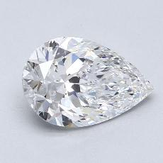 Recommended Stone #1: 1.81-Carat Pear Cut Diamond