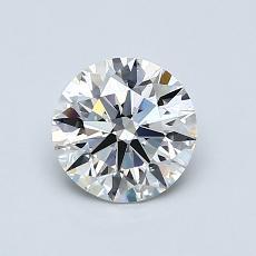 0.91 Carat 圆形 Diamond 理想 H VS2