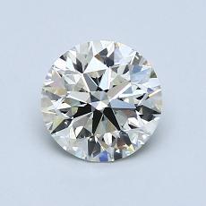 1,04-Carat Round Diamond Ideal K VVS2
