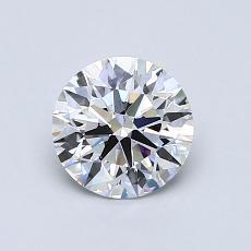推荐宝石 1:0.90克拉圆形切割钻石