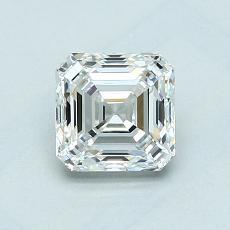 1.01-Carat Asscher Diamond Very Good G VVS2