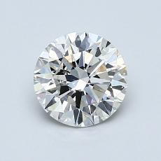 1.00-Carat Round Diamond Ideal H VS1