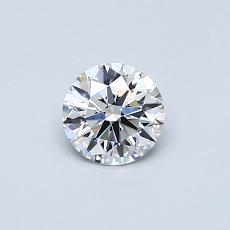 Recommended Stone #1: 0.44-Carat Round Cut Diamond