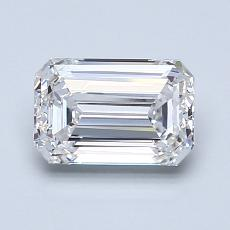 Recommended Stone #2: 1.29-Carat Emerald Cut Diamond