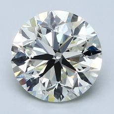 Recommended Stone #3: 2.55-Carat Round Cut Diamond