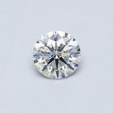 0,32 Carat Redondo Diamond Ideal F SI1