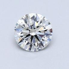 0.80-Carat Round Diamond Ideal I VS1