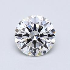 0.81-Carat Round Diamond Ideal G VS2