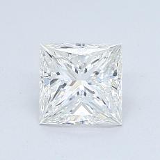 1,01-Carat Princess Diamond Very Good G VVS2