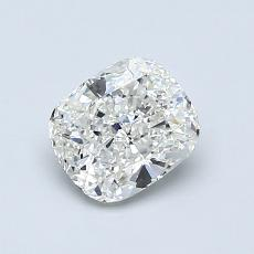 0,91-Carat Cushion Diamond Very Good H VS2