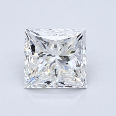 Recommended Stone #3: 1.12-Carat Princess Cut Diamond