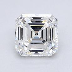 1.51-Carat Asscher Diamond Very Good E VVS1