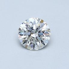 0.51 Carat 圓形 Diamond 理想 F VS2