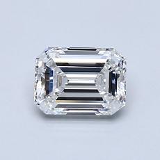 推荐宝石 1:0.71 克拉祖母绿切割钻石