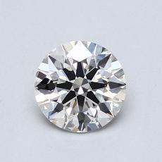 0.72 Carat 圆形 Diamond 理想 I VVS2