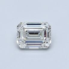 Recommended Stone #4: 0,59-Carat Emerald Cut Diamond