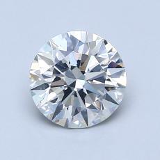 1.03 Carat 圆形 Diamond 理想 H SI1