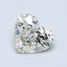 Recommended Stone #3: 1,02-Carat Heart Cut Diamond