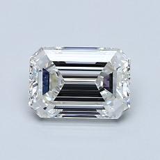 Piedra recomendada 4: Diamante de talla esmeralda de 0.90 quilates
