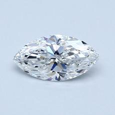 Recommended Stone #1: 0.52-Carat Marquise Cut Diamond