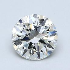 1.20-Carat Round Diamond Ideal K VVS2