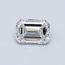 Pierre recommandée n°3: Diamant taille émeraude 0,60 carat