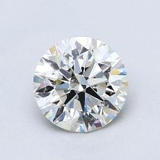 1.03-Carat Round Diamond Ideal F VS2