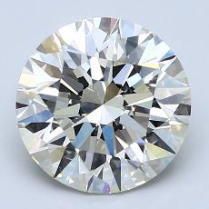 3.01 Carat 圓形 Diamond 理想 K VS1