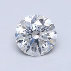 1.01-Carat Round Diamond Ideal E SI2