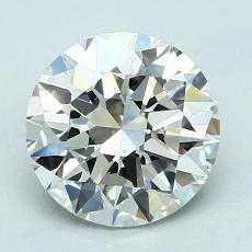 2.01 Carat 圆形 Diamond 理想 I VVS2