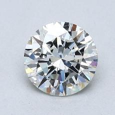 1.00 Carat 圓形 Diamond 理想 H VVS1
