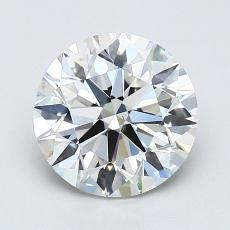 1.50-Carat Round Diamond Ideal H VS2