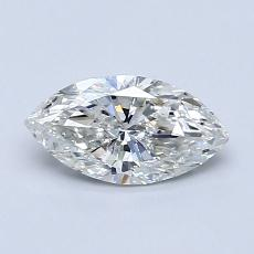 Recommended Stone #4: 0.70-Carat Marquise Cut Diamond