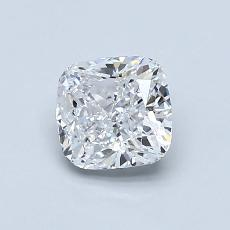推荐宝石 1:0.90 克拉垫形钻石